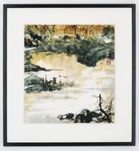 Product: Autumn Lake painting