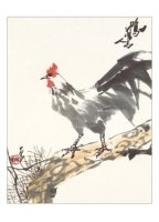 Product: Rooster note card