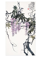 Product: Wisteria note cards