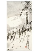 Product: After the Snowstorm note card