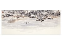 Product: Winter Shore note card