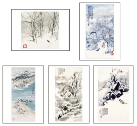 Product: Winter Assorted note cards