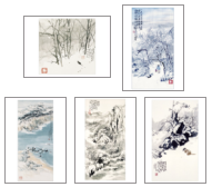 Winter Assorted note cards