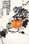 Painting by Charles Chu: Pumpkins